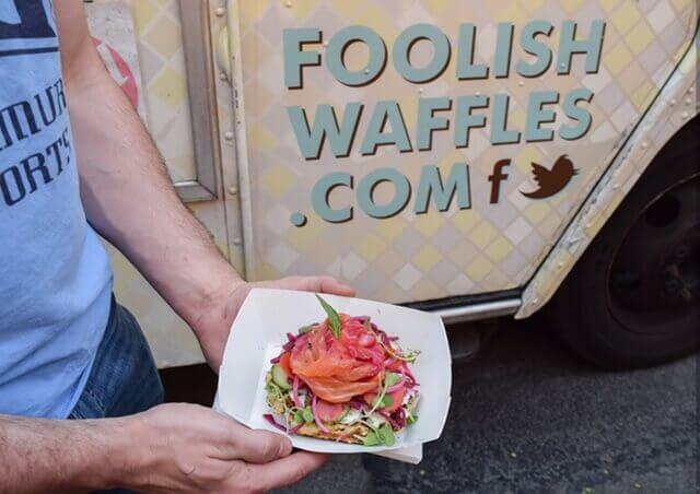 Foolish Waffles The Sweet And Savory Waffle Truck In Philadelphia Pa